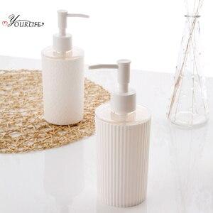 Image 4 - OYOURLIFE Portable Soap Dispenser Cosmetics Bottles Bathroom Hand Sanitizer Shampoo Body Wash Lotion Bottle Bathroom Accessories