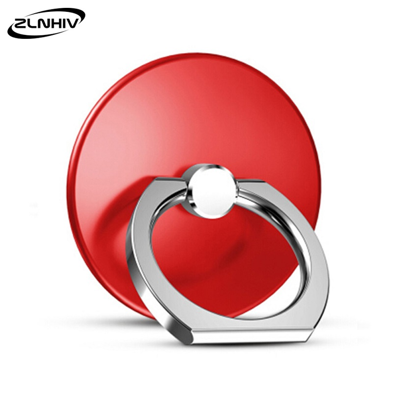 ZLNHIV Mini Holder Stand Mobile Phone Support  For Phones Cell Mount Finger Ring Accessories Telephone Grip Round Cellphone
