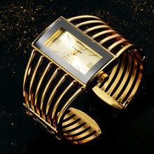 CANSNOW Womens Watch Luxury Fashion Rose Gold Bangle Bracele
