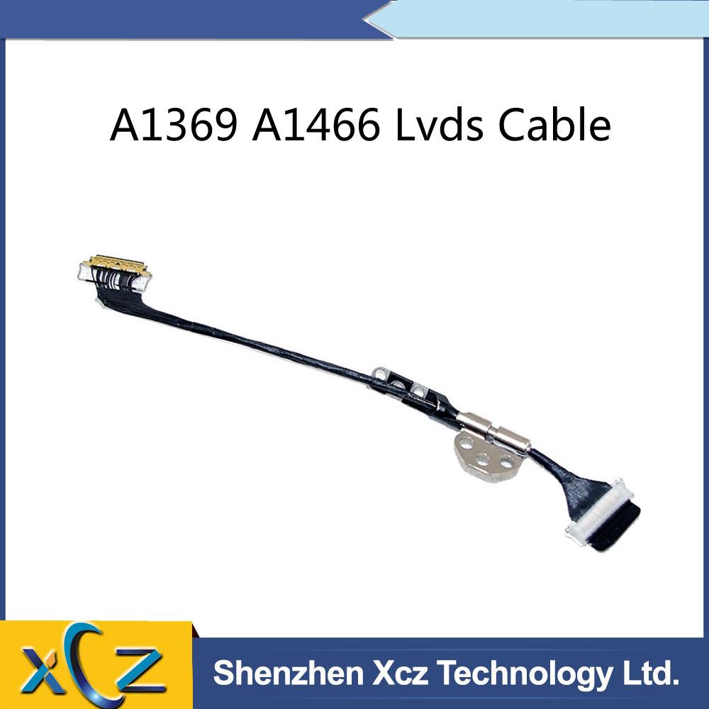 Willhom LCD Display LVDS Cable Mid 2012-Early 2015 Left Hinge Replacement for MacBook Air 13 A1466