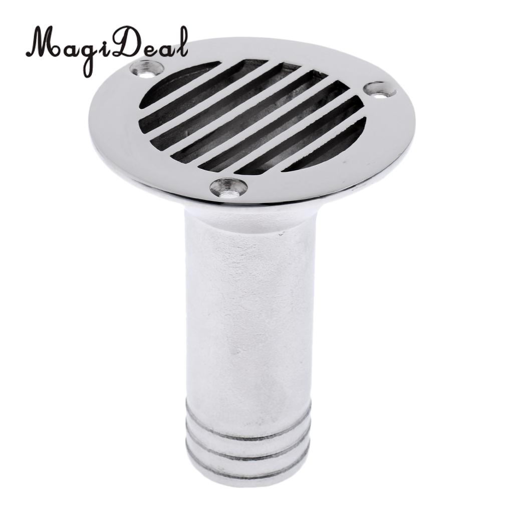 1 4 Inch Boat Deck Floor Drain Grate For Marine Stainless Steel 316 Mirror Polish