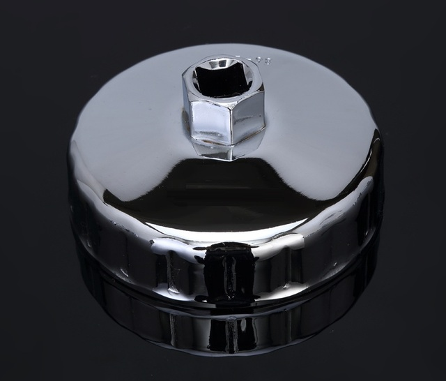 """915---911, steel cap oil filter Wrench 1/2"""" Square Drive bowl style engine box key Auto repairing oil Tool, 1/2"""" curve rod"""
