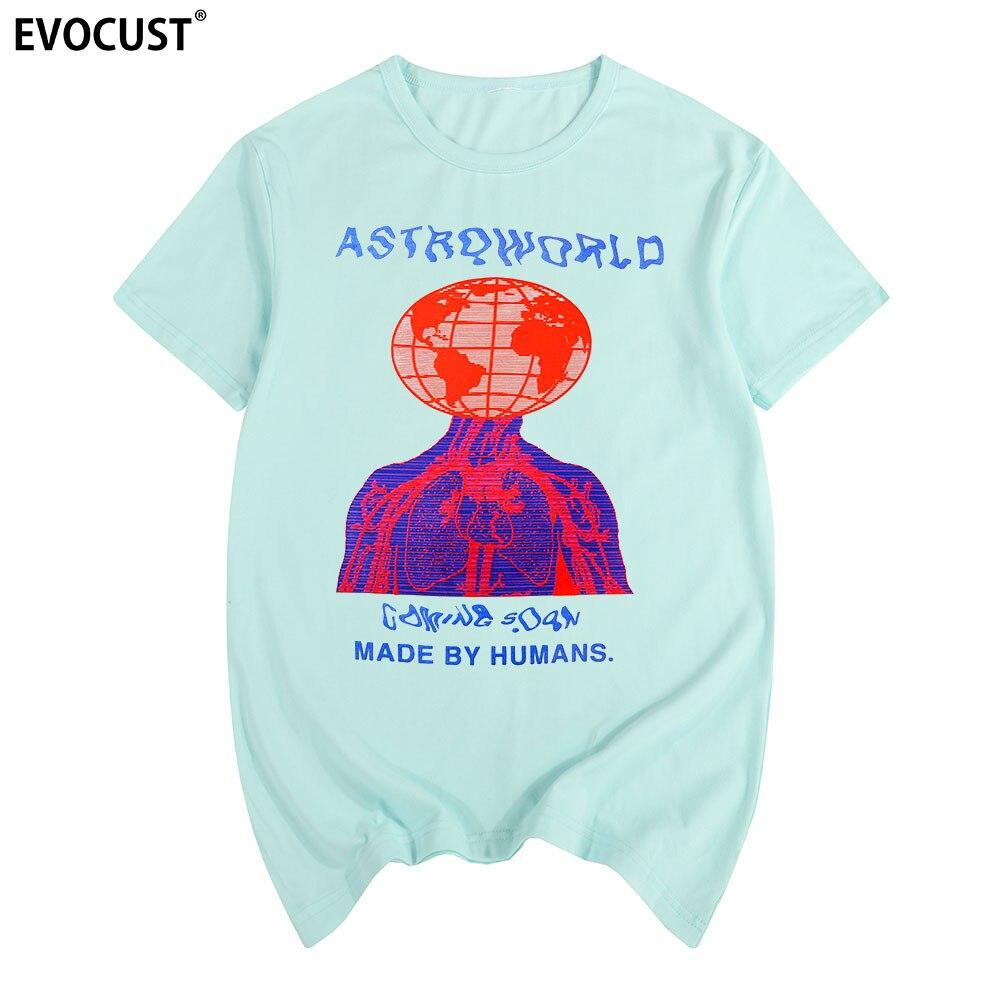Scott Travis Astroworld 2 Hiphop Rap T-shirt de Algodão camisa Dos Homens T Novo TEE TSHIRT Das Mulheres Moda unissex