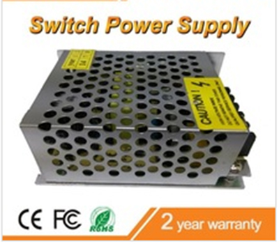 AC 220V to DC12V 2A 24w metal housing CCTV Switch Power Supply Surveillance Accessories