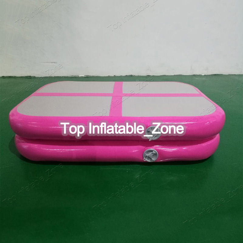 High quality pink airblock factory inflatable air block air track for saleHigh quality pink airblock factory inflatable air block air track for sale