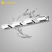 Modern 3W 12W Waterproof Acrylic LED Bathroom Mirror Light 90 260V Wall Lamp Indoor Home Fixtures Living Room Sconce Lighting
