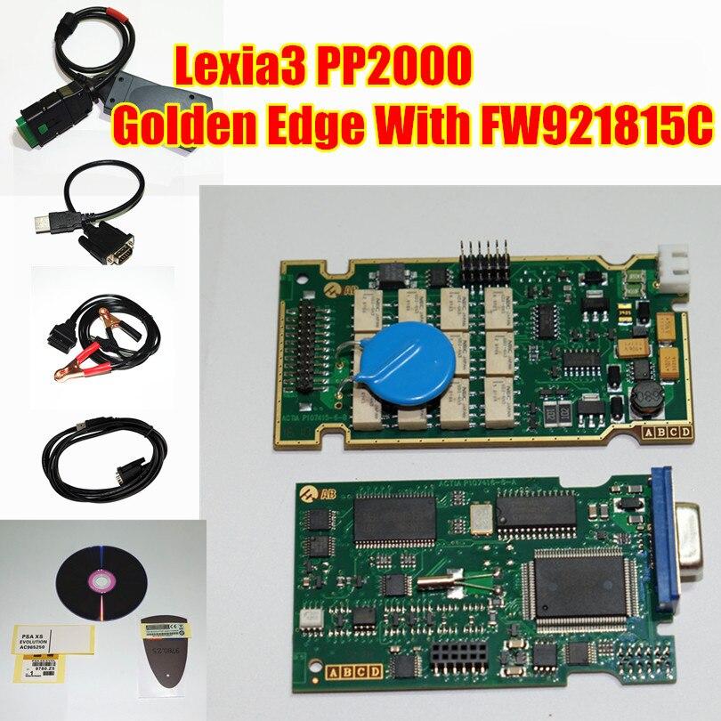 Цена за Бесплатная доставка DHL! Лидер продаж Новые PP2000 V7.83 Lexia3 Lexia 3 16PIN Авто OBD2 инструмент диагностики Lexia-3 PP2000 с новым Diagbox