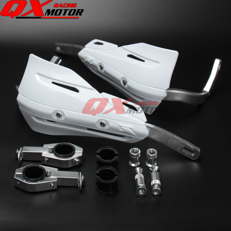 Motorcycle handguards Hand Guards for CR CRF YZF KXF RMZ Kayo BSE Dirt Bike MX Motocross Enduro Supermoto OFF ROAD for honda crf 250r 450r 2004 2006 crf 250x 450x 2004 2015 red motorcycle dirt bike off road cnc pivot brake clutch lever