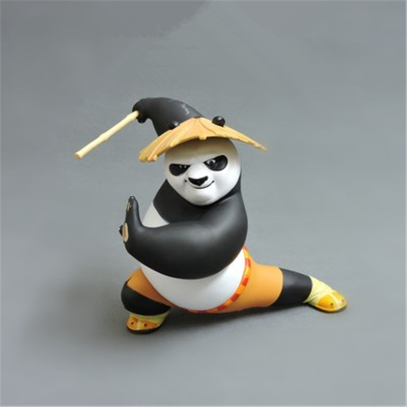 Kung Fu Panda Car Decoration Car Ornaments Interior Dashboard Decoration car accessories...
