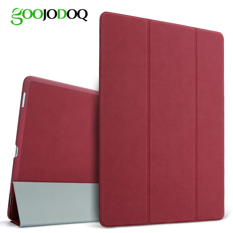 For iPad Pro 9.7 Case PU Leather Original Matte Deer Smart Cover Flip Stand for Apple iPad Pro 9.7 Case 2016 Auto Sleep/Wake up luxury smart case for apple new ipad 9 7 2017 tablet deer pattern slim flip stand auto wake sleep cover for air 1 2