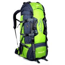Large 80L Men's  Backpacks Waterproof Nylon Travel Bag Travel Rucksack Bag Backpack fashion big Laptop Backpack laptop bag