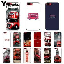 Yinuoda london bus england Customer High Quality Phone Case for iPhone 6S 6plus 7 7plus 8 8Plus X Xs MAX 5 5S XR(China)