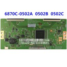 100% Original logic board 6870C-0502A 6870C-0502B 6870C-0502C for 42-inch 49-inch 55-inch LCD TV 6870C-0502A/B/C tlm3233n logic lc320wxn saa1 6870c 0195a lc320wxn used disassemble