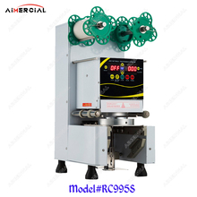 RC995S electric cup sealing machine Bubble tea machine Commercial Cup sealer seal 7/7.5/8.8/9/9.5cm PP/PC/PE cup sewing embroidery machine hoops set for brother pe 700 pe 700ii pe 750d pe 7701200 1250d pc 6500 pc 8200 pc 8500 5aa8254