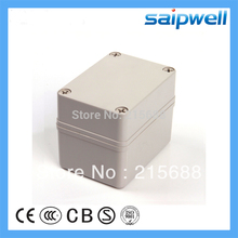 High qulaity ABS waterproof switch box IP66 junction box (Screw Open-Close Type) 80*110*85 DS-AG-0811-1