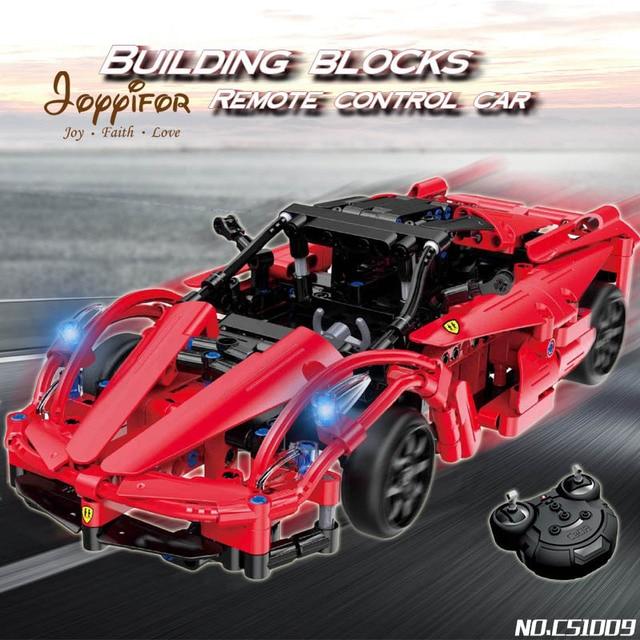 Joyyifor Technic Rc Remote Control Sportscar Racing Car Land Rover
