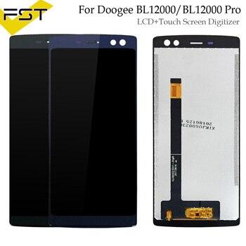 6,0 pulgadas Doogee BL12000 BL12000 Pro pantalla LCD y la pantalla táctil con herramientas y adhesivo accesorios del teléfono móvil