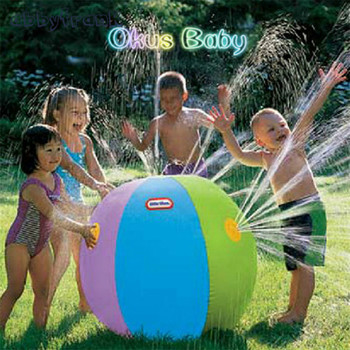 2018 Brand New Inflatable Outdoor Beach water ball Lawn play ball Bath Swim Toy Beach Toy Bath Toys Kids Toys for Children new 1pc children baby bathing swim toy plastic bath water cup beach play toy