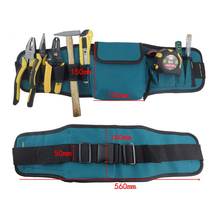 Multifunctional tool pockets  portable durable wear waterproof oxford cloth  including belt C type