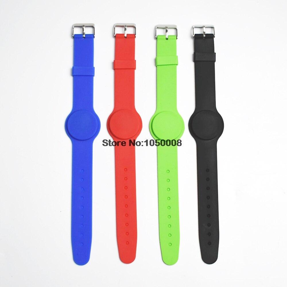 50 St/ück RFID Armband SILA04 MIFARE/® Classic 1K orange