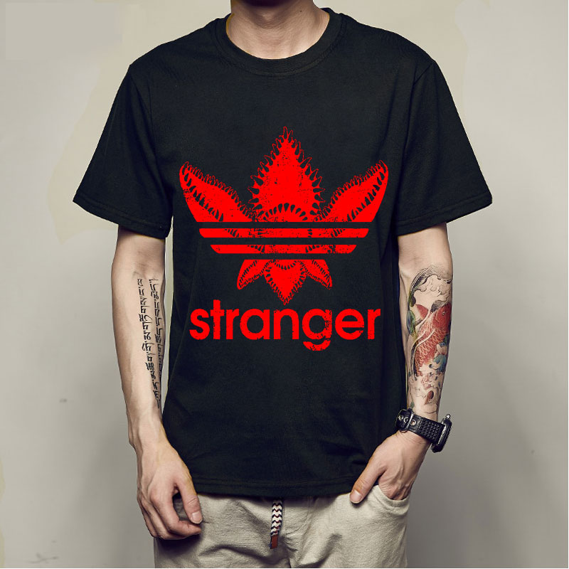 stranger things t-shirt summer stranger things tshirt cotton homme t shirt men hip hop camiseta tees