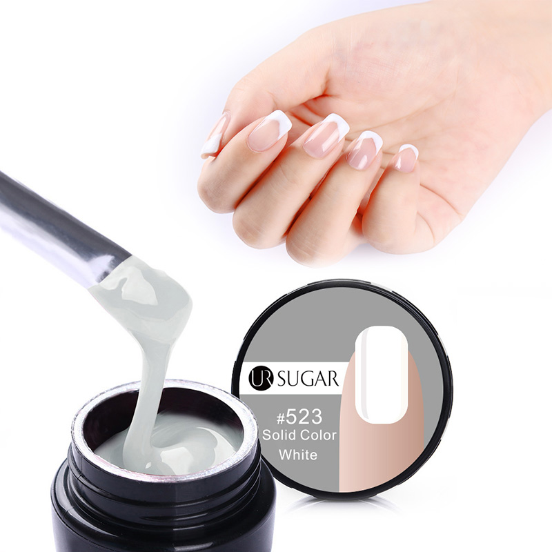 UR SUGAR Acrylic French Nail Jelly Builder Gel UV LED Builder Gel Soak Off Camouflage GEL Hard Gel For Nail Polish False Tips