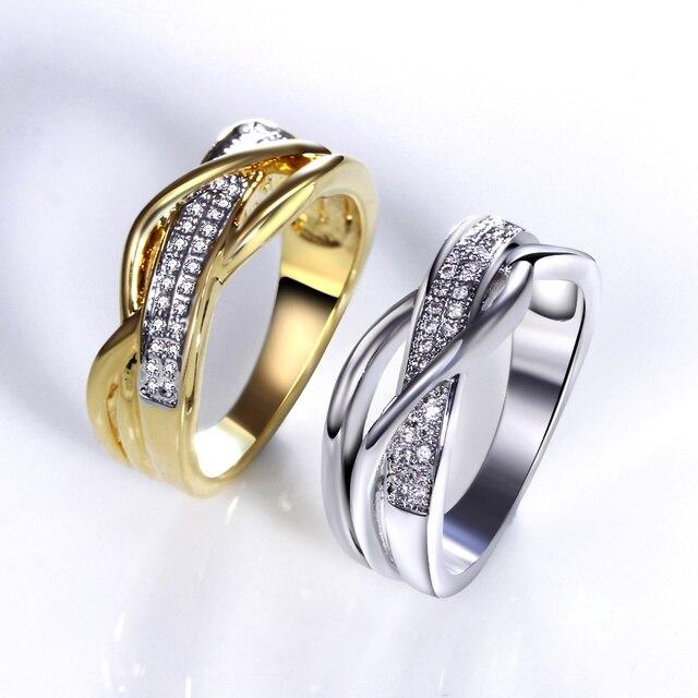 Low Price Fancy Slim design Women Gold color Jewelry Love Bijoux