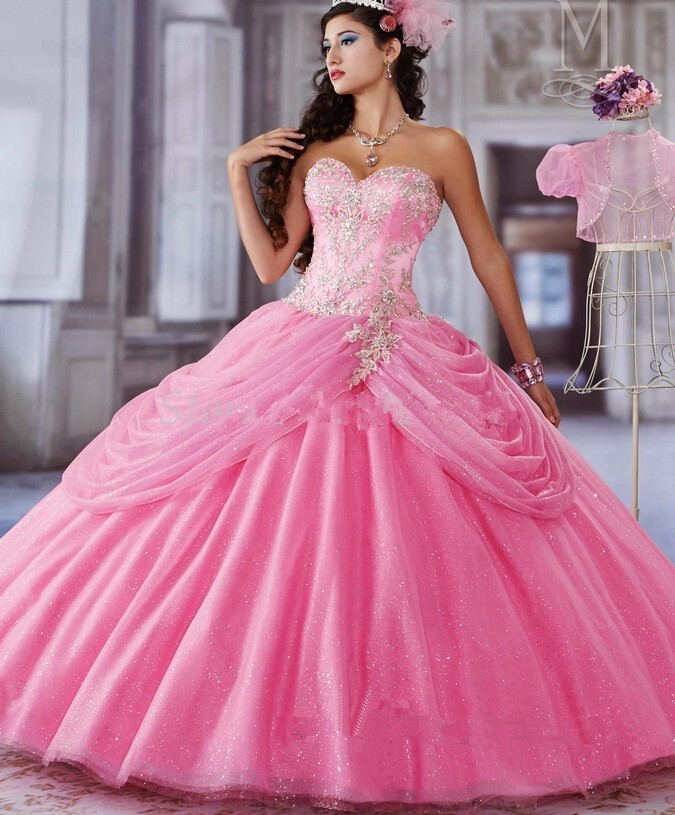2016-Royal-Blue-Pink-Quinceanera-Dresses-Ball-Gown-Organza-With-Beaded-Jacket-Cheap-Sweet-16-Dresses