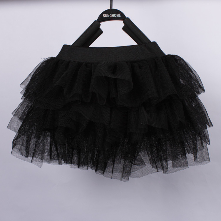 2 5y Little Girl Skirt Black Tutu Girls Kids Latin Stage Dancing Wear 2015 Fashion Baby Clothes Children In Skirts From Mother
