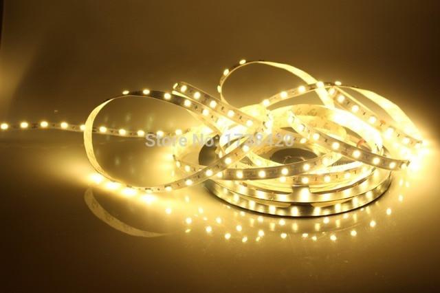 Tira de LED rgb SMD 5050 12V cinta de neón flexible 60 LEDs/m 1 metro RGB, blanco, blanco cálido, azul, verde, rojo, amarillo, envío gratis