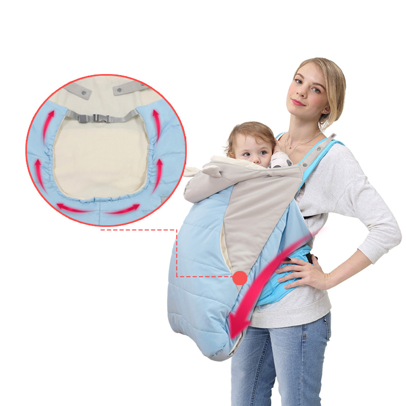 Mother & Kids Baby Accessories Baby Carrier Windproof Rainproof Cloak Warm Cover Suspender Kangaroo Sling Infant Wrap Backpack Carrier Cover Activity & Gear