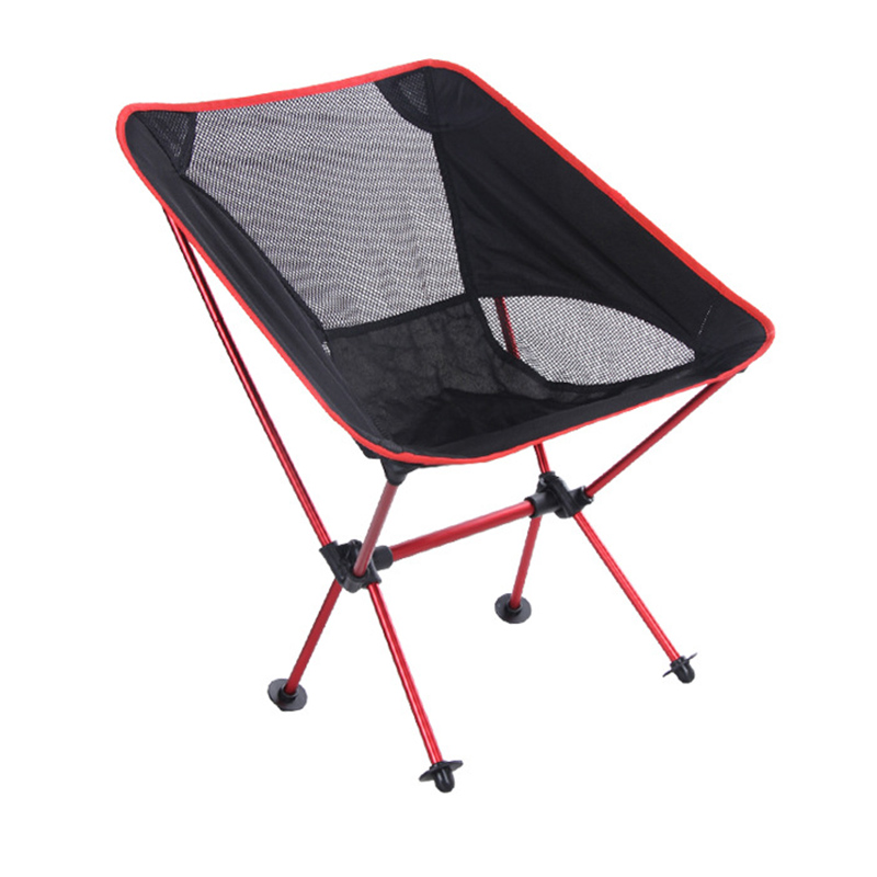 2019Lightweight Seat BBQ Outdoor Fishing Chair  Beach With Bag Portable Folding Chairs Fishing Camping Chair Seat  Oxford Cloth