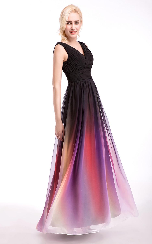 Šifon Vjenčanje party djeveruša haljina vestido de dama de honra - Vjenčanje večernje haljine - Foto 2