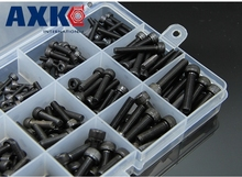 420pcs M3 M4 M5 Alloy Steel Grade12.9 High Tensile Socket Cap Screws With Nuts Allen Bolts DIN912 Assortment