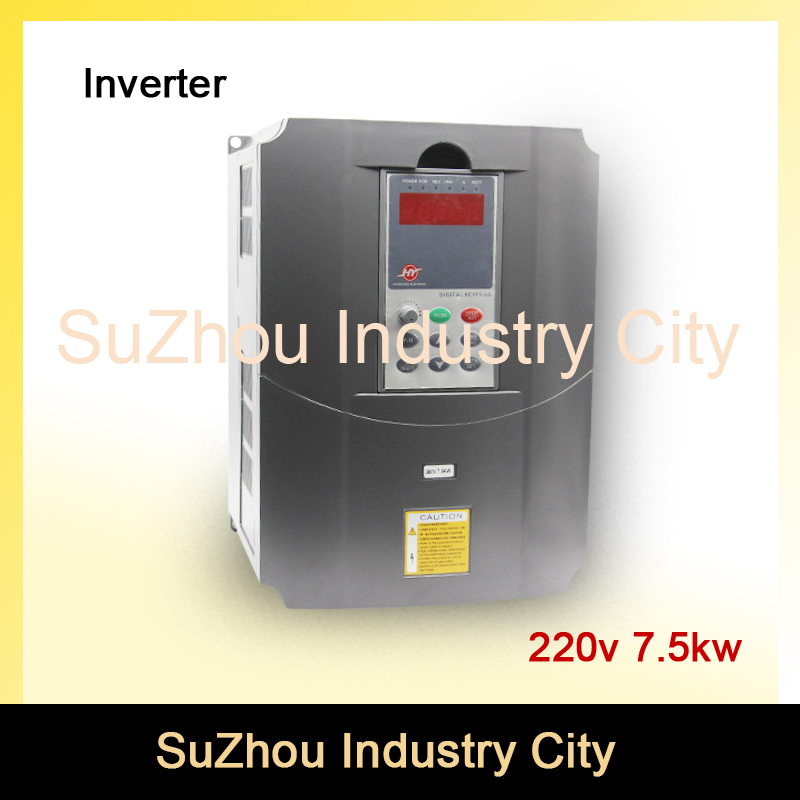 220v 7.5kw VFD Variable Frequency Drive VFD Inverter 3HP Input 3HP Output  CNC spindle motor Driver spindle motor speed control 220v 5 5kw vfd variable frequency drive vfd inverter 3hp input 3hp output cnc spindle motor driver spindle motor speed control