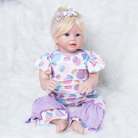 Девушка Кукла Reborn для маленьких детей куклы Boneca обувь девочек игрушки Childen сбора подарки DHL Бесплатная быстрая доставка