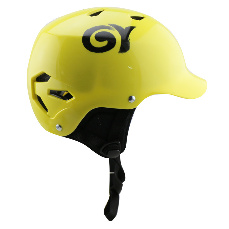 GY SPORTS ABS Material  Kayaking Sport safety helmet canoe helmets for kayak rafting protective helmet-in Helmets from Sports & Entertainment    1
