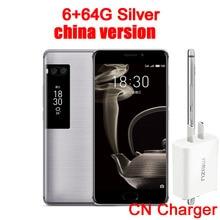 "Meizu Pro 7 Plus 6GB 64GB 4G LTE MTK Helio X30 Deca Core 5.7"" 2K Screen Dual Rear 12.0M Fast Charge Cell Phone Dual Screen(China)"