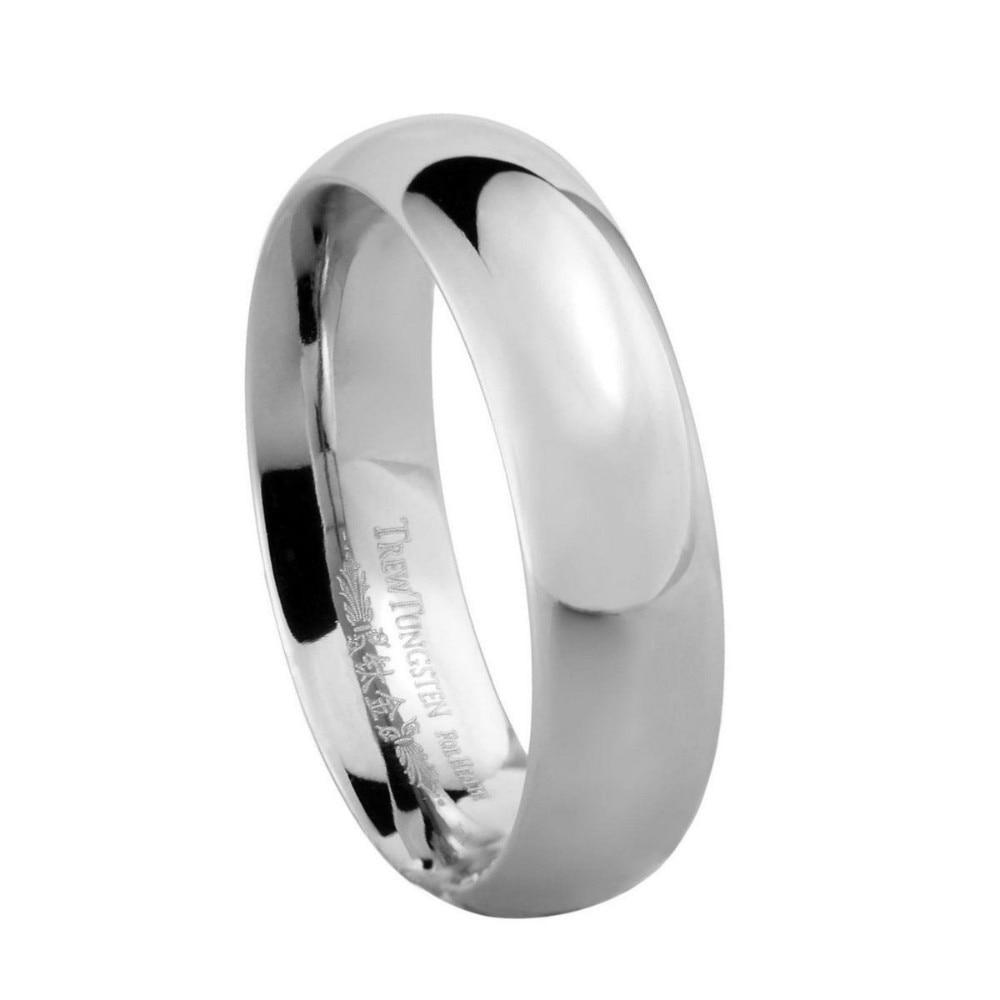 Mens Domed Titanium Wedding Ring Width 5mm Tiri0001m Custom