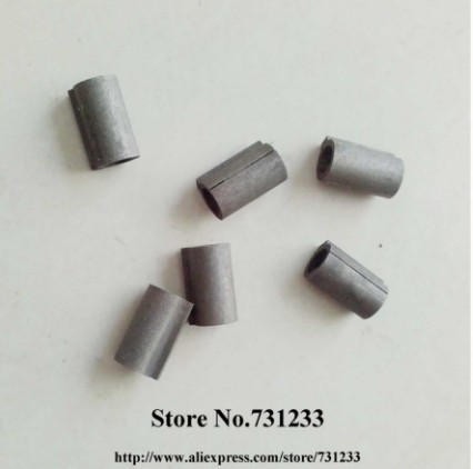 Input Shaft Sleeve Shaft Adaptor 6.35mm to 11mm for RV30 Worm Reducer Mounting With Nema 23 Stepper Motor