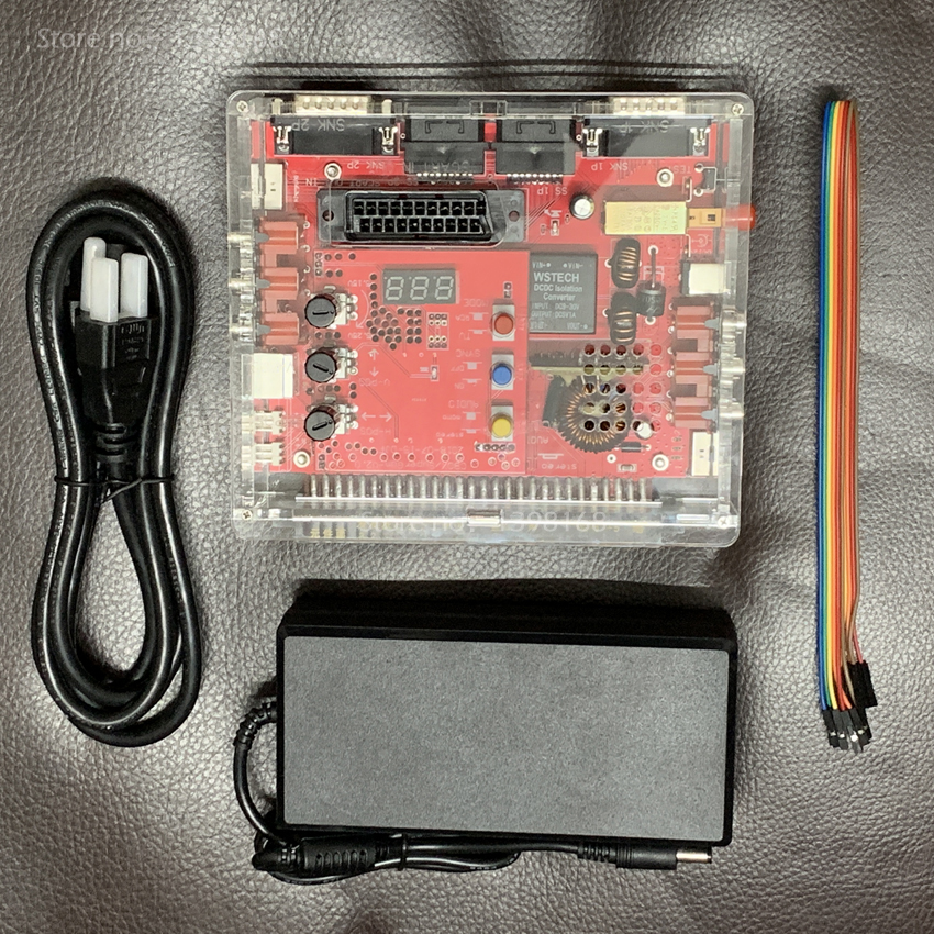 V2.0 JAMMA CBOX / Super Gun Converter Board To SNK D15P Joypad & Saturn Gamepad For JAMMA PCB Box MVS Motherboard