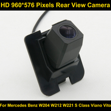 PAL HD 960*576 Пиксели Парковка заднего вида Камера для Mercedes Benz W204 W212 W221 S класса Viano Vito 2010 2011 2012 S600 S550 S500