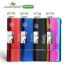 AIRISTECH Airis Headbanger Wax Vaporizer Dip&Dab 2in1 Vape Pen Kit Qcell Hearting Coil Voltage Control Electronic Cigarette Kit