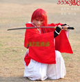 Rurouni Kenshin Himura Kenshin Kimono Cosplay Costume Custom Any Size