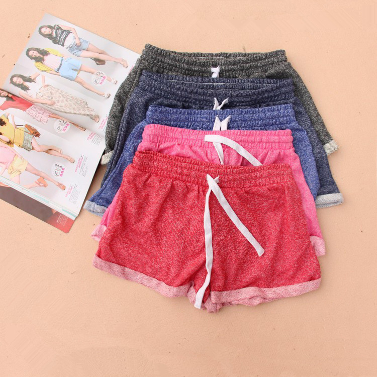 Aliexpress.com : Buy 2015 Women Cute Candy Colors Sport Shorts ...