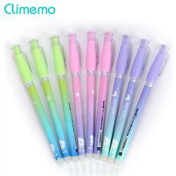 0,38 мм Kawaii стираемые ручки для школы Magic Blue/черные чернила гелевая ручка для офиса Школьные принадлежности Студент письменная ручка милые