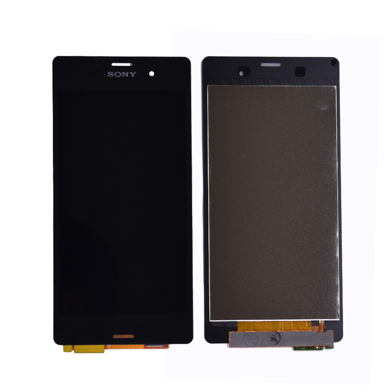 For Sony Xperia Z3 D6603 D6653 L55t LCD Display with Touch Screen Digitizer Assembly with frame free shipping
