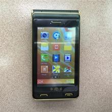 TKEXUN G10 Plus Flip Phone Dual Screen Dual Sim Analog TV Camera MP3 MP4 Flashlight 3.5 Inch Touch Screen Luxury Senior Phone