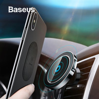 Baseus Car Qi Wireless Charger Holder For iPhone X 8 8Plus Magnetic 360 Degree Rotation Charging Car Mount Holder Stand