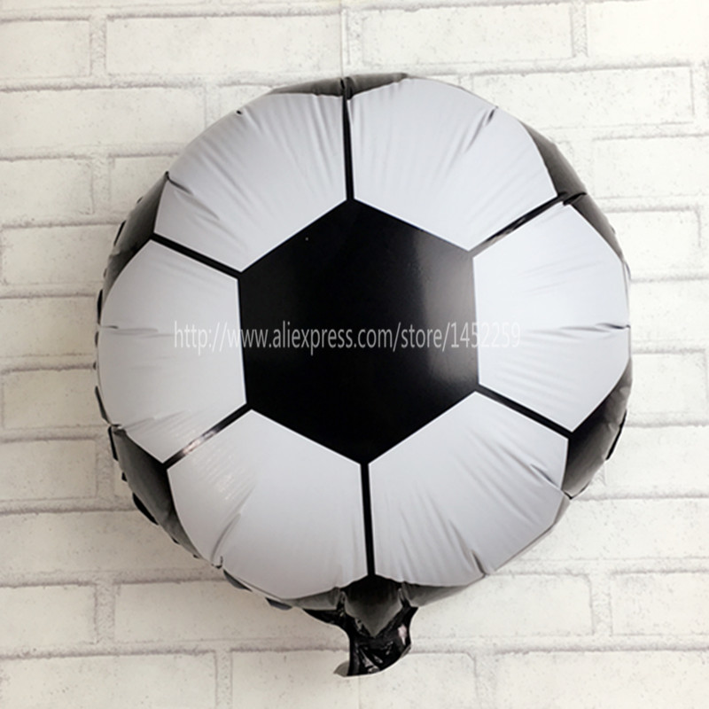 Home & Garden Charitable Xxpwj New Hot 18 Inch Football Balloons Childrens Toys Wholesale Wedding Party Decoration Balloons For Baby Gift I-122 Lustrous